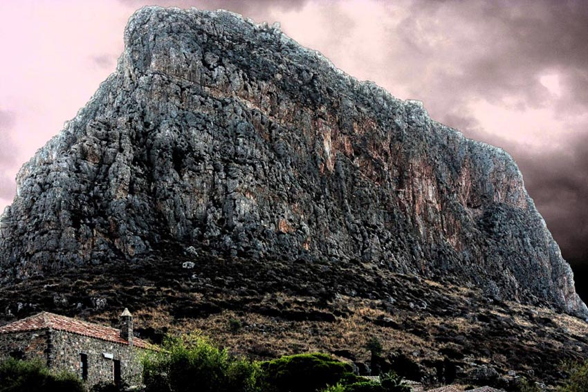 landscape photography, landscapes, monemvasia's rock