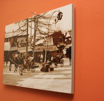Fine-art photographic print glued on Kapa Fix board
