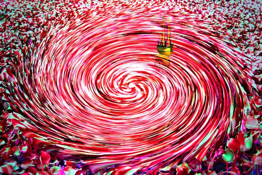 whirpool, abstract photography