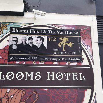 Blooms Hotel welcomes U2 fans
