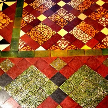 Floor detail at Christ Church Cathedral
