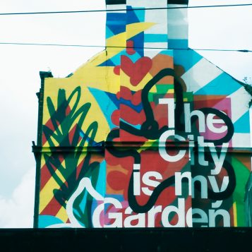 the city is my garden